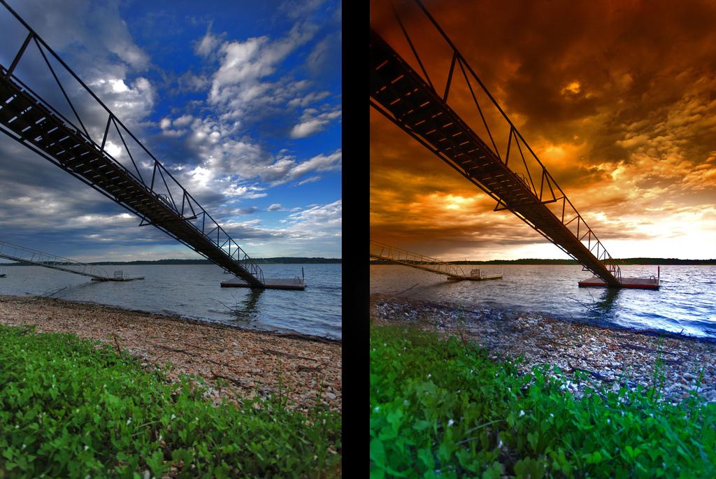 примеры фотографий со светофильтром и без цены, честные