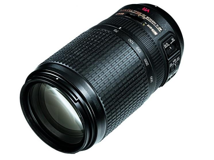 Объектив Nikon 70-300 mm f/4.5-5.6G IF-ED VR AF-S Nikkor