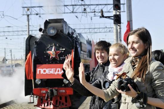 На Челябинской станции начала свою работу выставка фотографии «Лица магистрали».